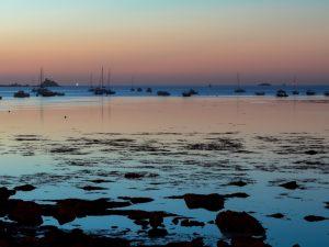 Océéan en Bretagne à Penmarc'h le matin